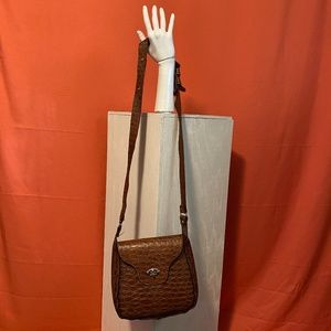 1980s Unbranded Brown Leather Purse